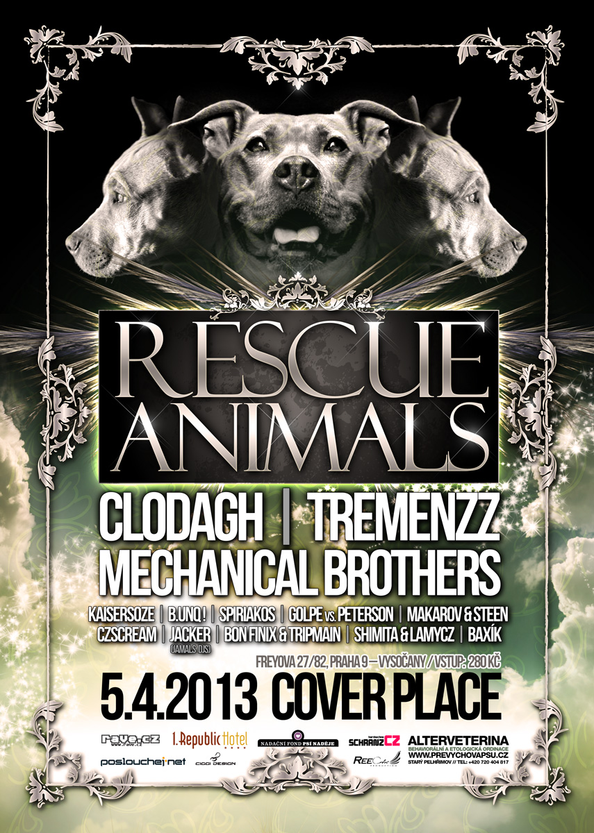 rescue animals poster 7